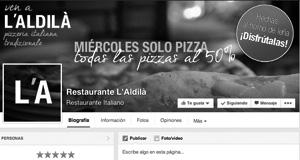 cómo promocionar un restaurante en facebook