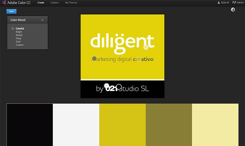 conseguir las mejores combinaciones de colores para Tienda Online