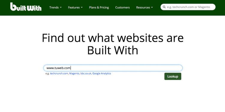 cómo saber qué CMS utiliza una web descubre builtwith