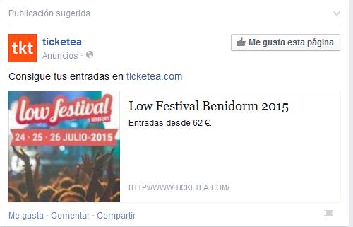 low cost festival qué es remarketing