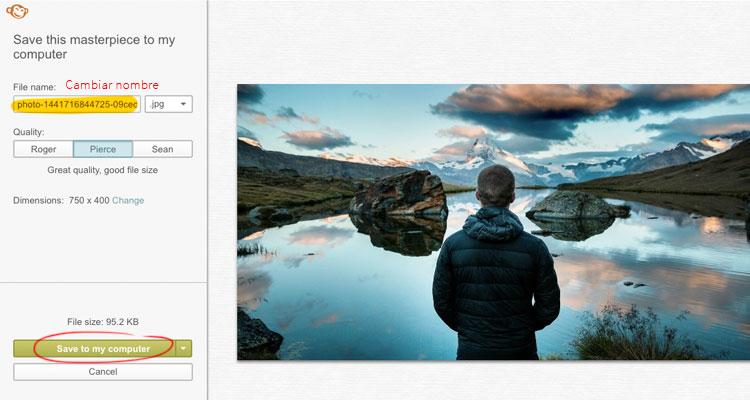 editar imágenes para tus post creativos
