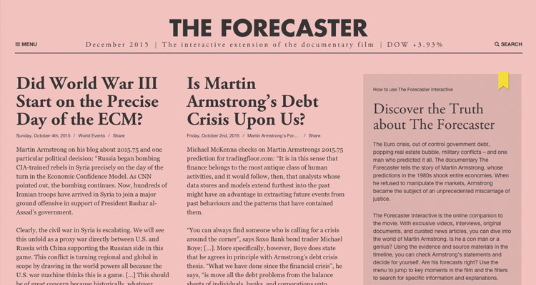 web font the forecaster