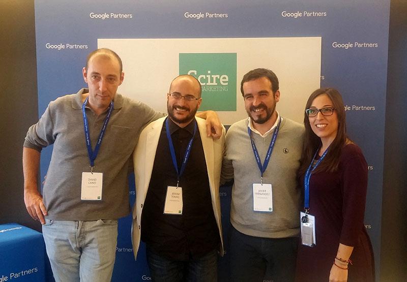 David Cano, Javier Fernandez, Jerom Tomás, Clara Martín