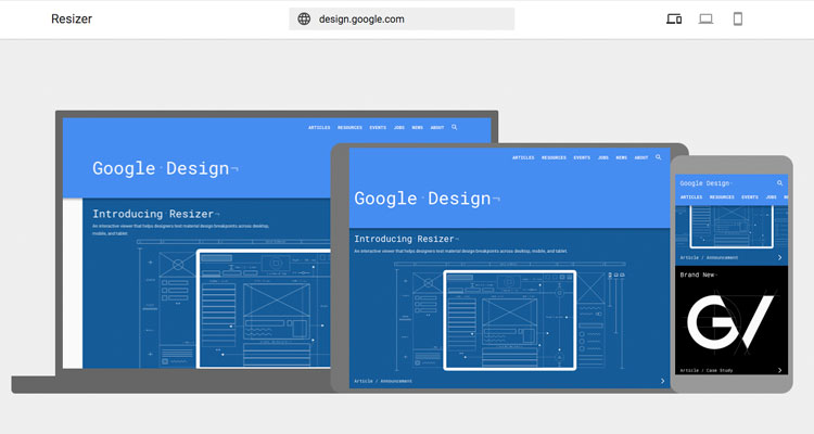 Nueva herramienta Google Resizer