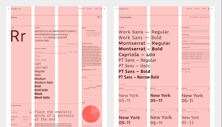 tipografía para web Google Fonts-
