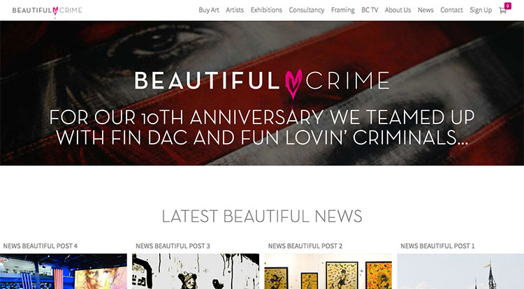 tienda online beautiful crime