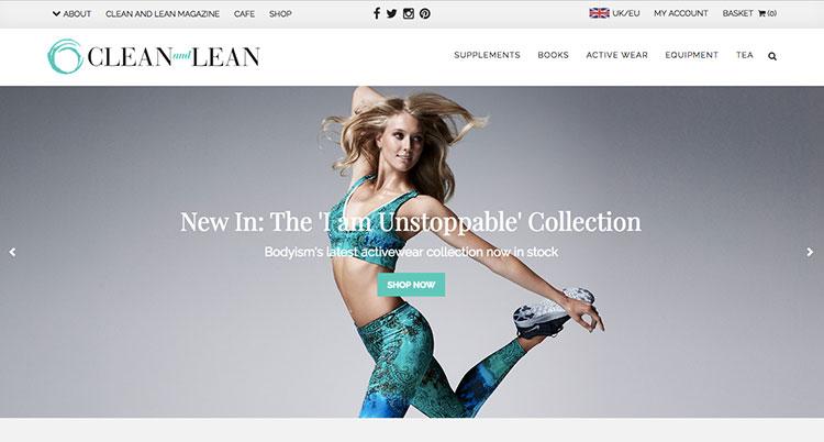 tienda online cleannadlean