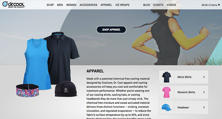 web site hecho con woocommerce drcool