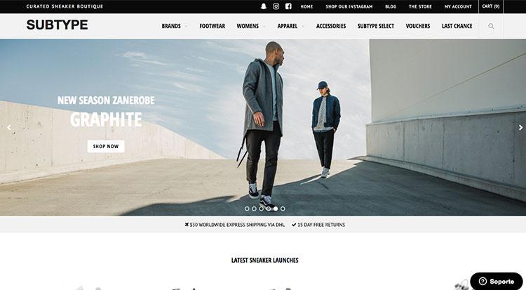 tienda online con woocommerce subtype