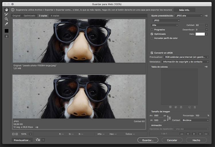 como optimizar imagenes en tu web