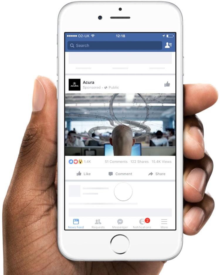 Facebook Creative Hub anuncios