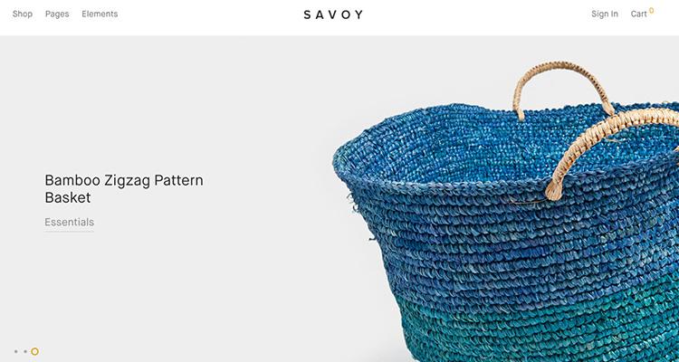 ejemplo de tienda online imagen full screen