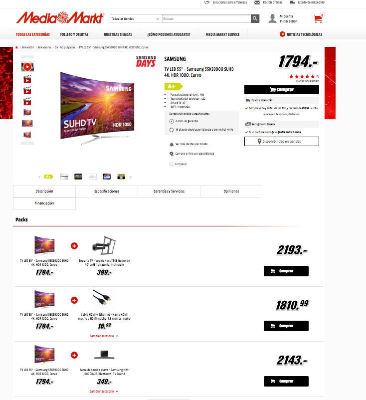 ichas ecommerce cross selling