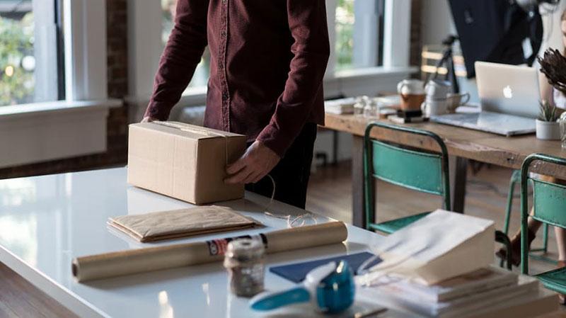 preparacion de paquetes de tu tienda online