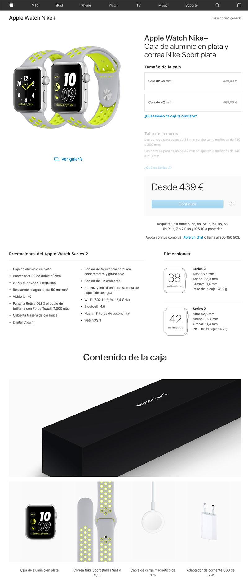 ejemplo ficha de producto eCommerce