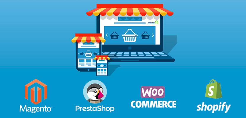 Benchmarking sobre las 4 plataformas de eCommerce más conocidas