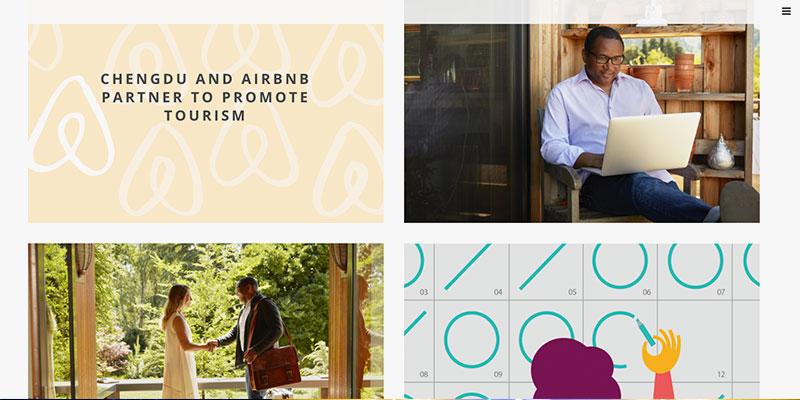 blogs mejor diseñados - Airbnb