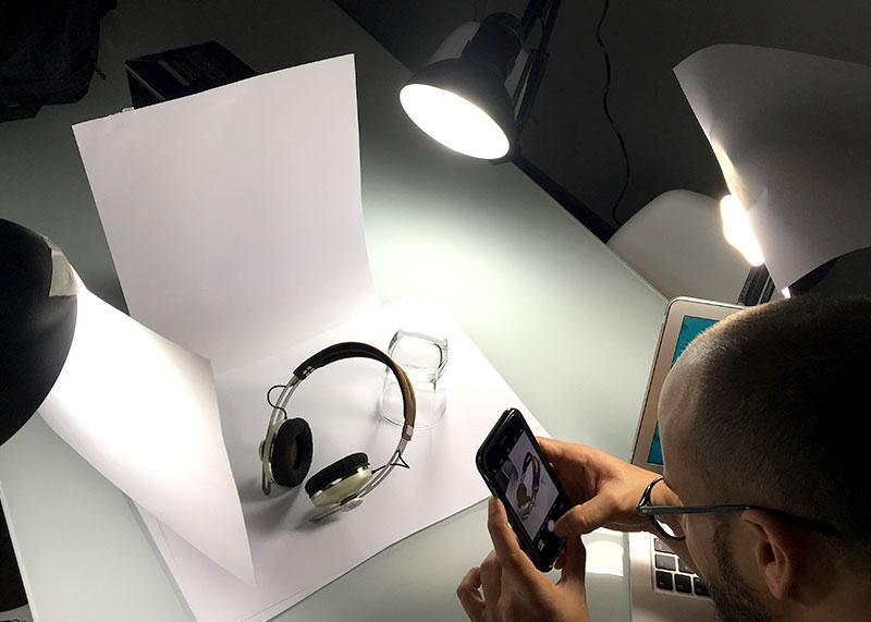 como hacer buenas fotografias de producto con el movil