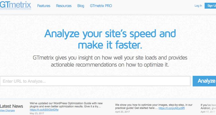 herramientas para medir velocidad web