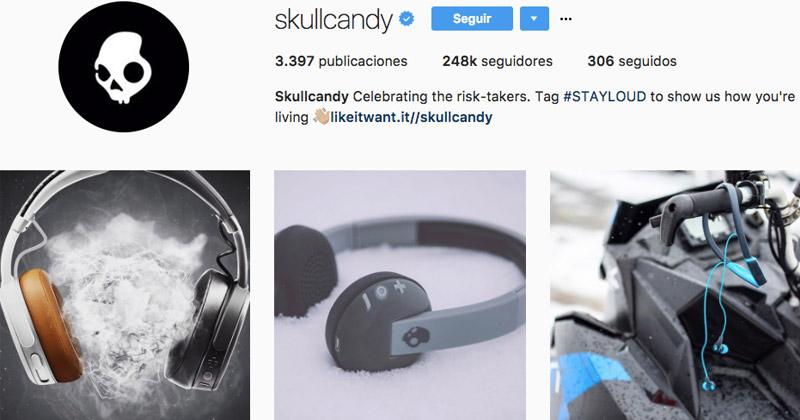 vener en instagram scullcandy