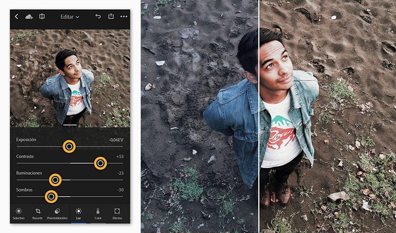 lightroom mobile para tus fotos de producto