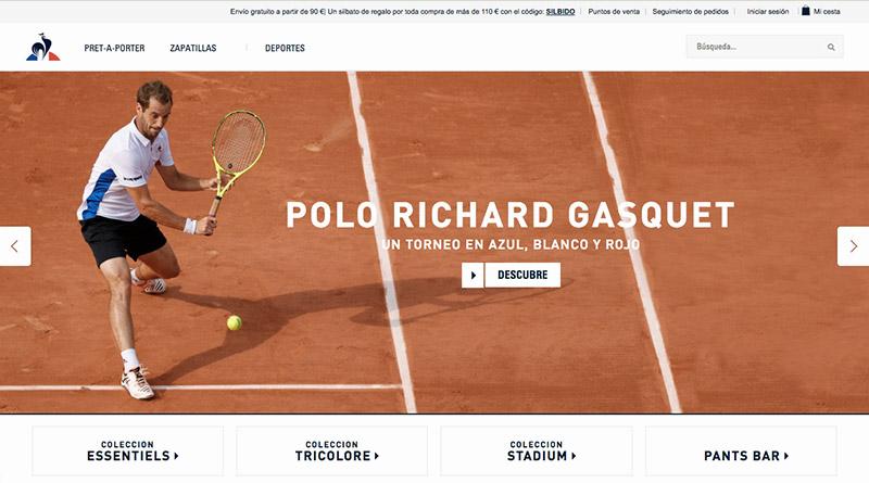 Le coq sportif tienda online