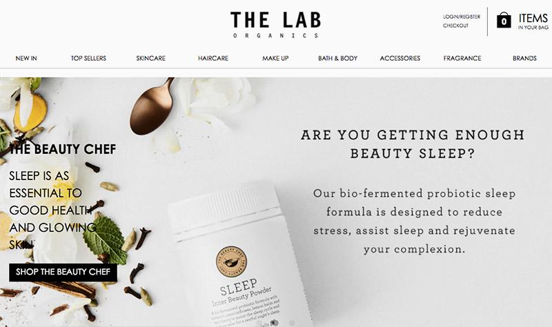 the Lab Organics - tienda online de inspiración