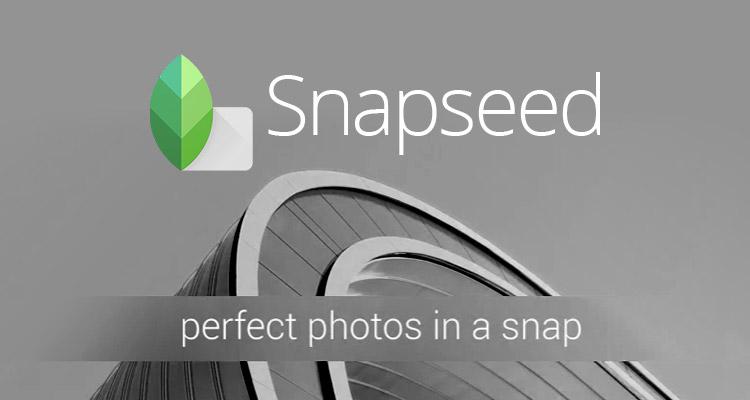 Cómo editar fotografías desde Snapseed