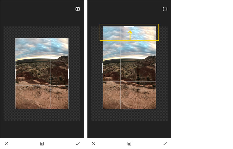 como editar imagenes con snapseed