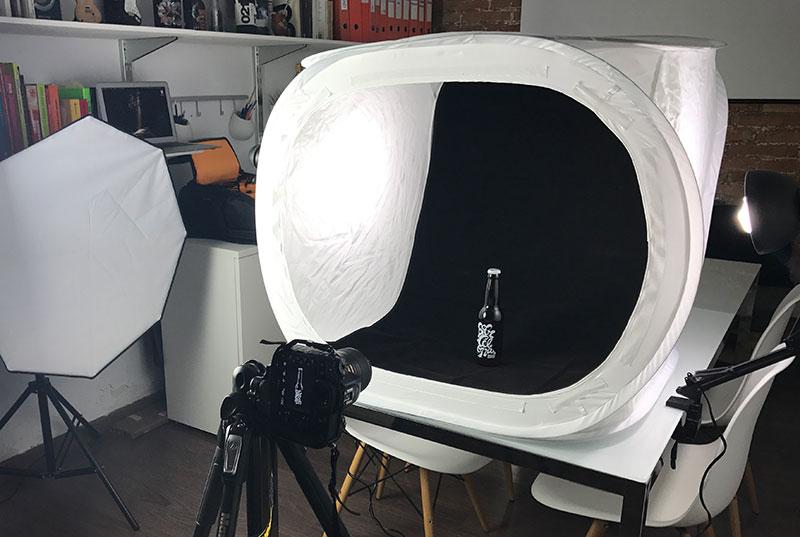 Como conseguir fotografías de productos ideales iluminacion