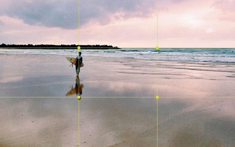 Encuadrar Una Fotografía Con La Regla De Los Tercios Diligent