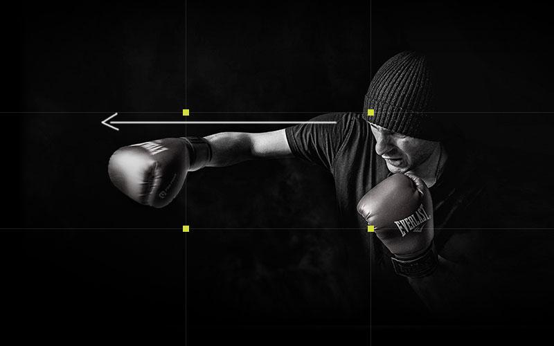 encuadrar una fotografia con la regla del movimiento y regla de la mirada