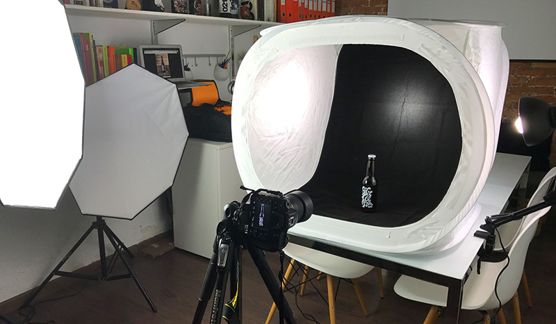 Que se necesita para hacer fotografia de producto con caja de luz