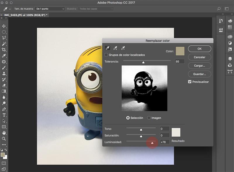 Como editar fotografias de producto con photoshop reemplazar color