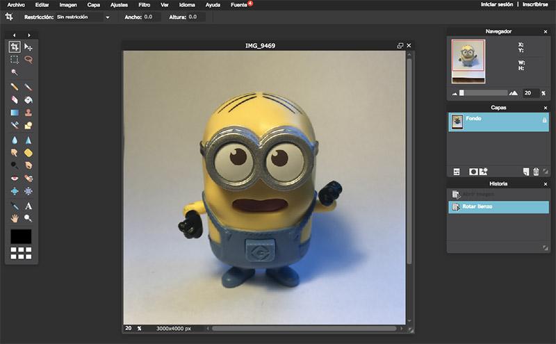 Cómo editar fotografías de producto con Pixel editor