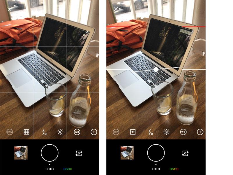 como funciona vsco cam fotografía móvil