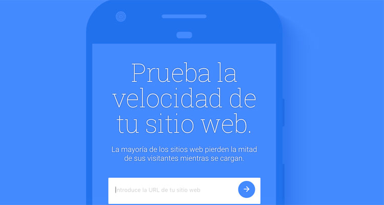 test my site velocidad web