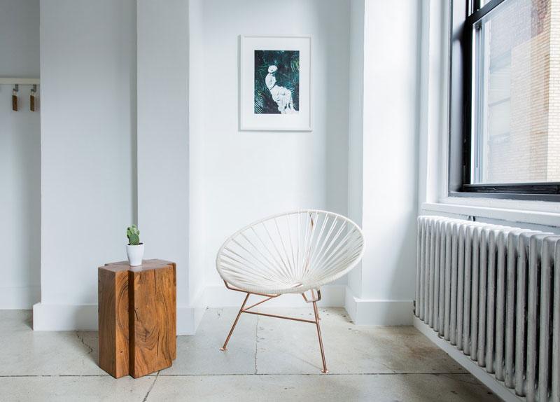bodegón de producto para una silla