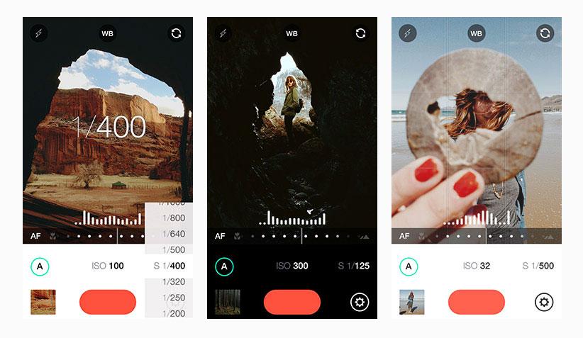 mejores aplicaciones de fotografía para iphone Camera+