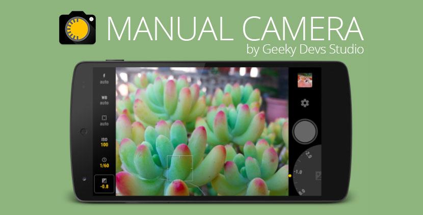mejores apps de fotografía para Android manual camera