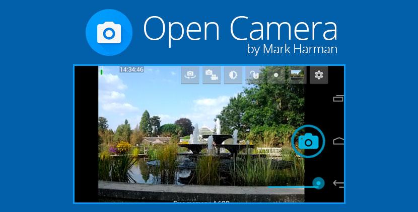 mejores apps de fotografía para Android Open Camera