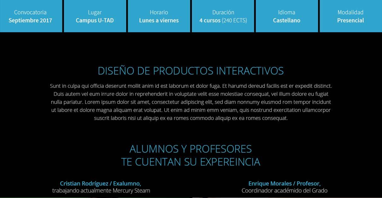 u-tad-project2
