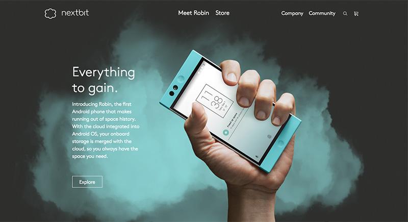 Los mejores diseños en e-commerce nextbit