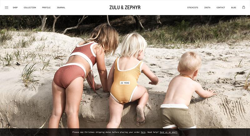 Los mejores diseños en tiendas online zulu & zephyr