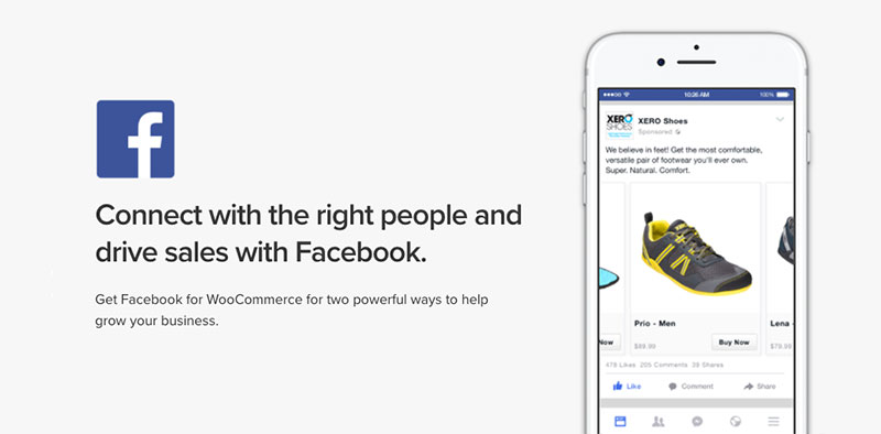 WooCommerce for Facebook plugin
