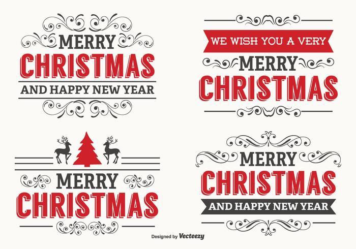 15 etiquetas de Navidad gratuitas