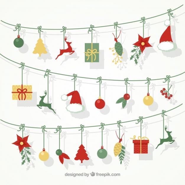 15 etiquetas navideñas gratuitas que te puedes descargar