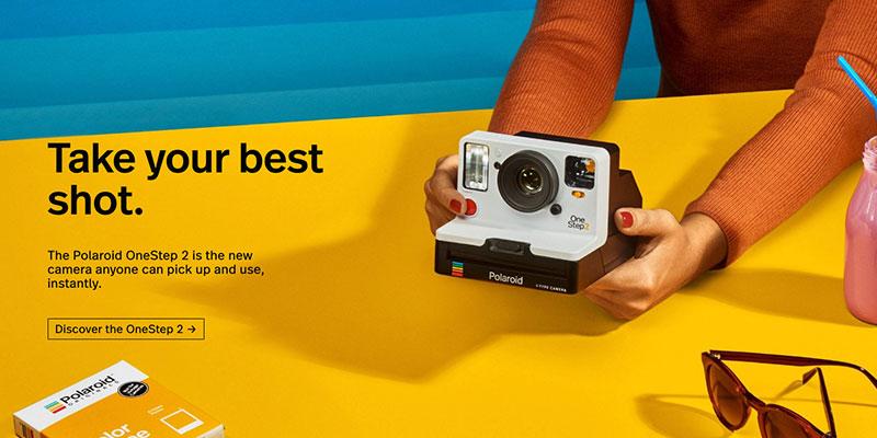 Polaroid mejores tiendas online de inspiración