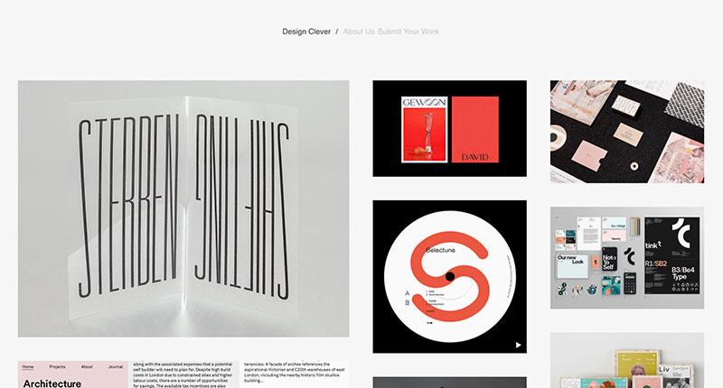 10 blogs de diseño Design Clever
