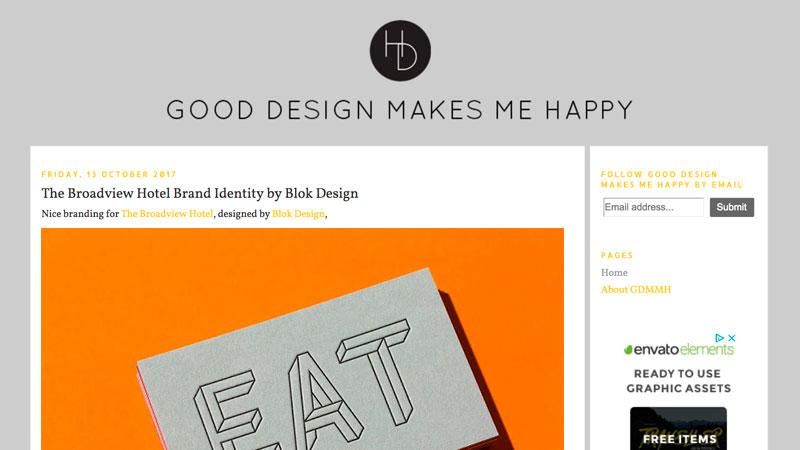 10 blogs de diseño GoodDesign Makes Me Happy
